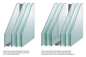 Aberturas de pvc: vidrio laminado reforzado
