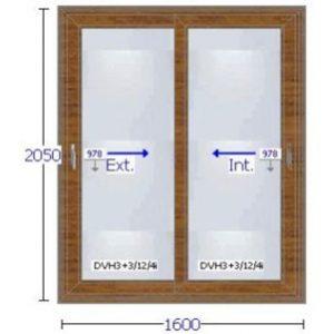 Aberturas de pvc precios ventanas y puertas for Aberturas pvc simil madera precios